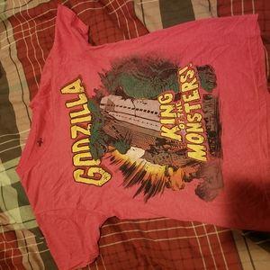Godzilla King Of The Monsters t shirt